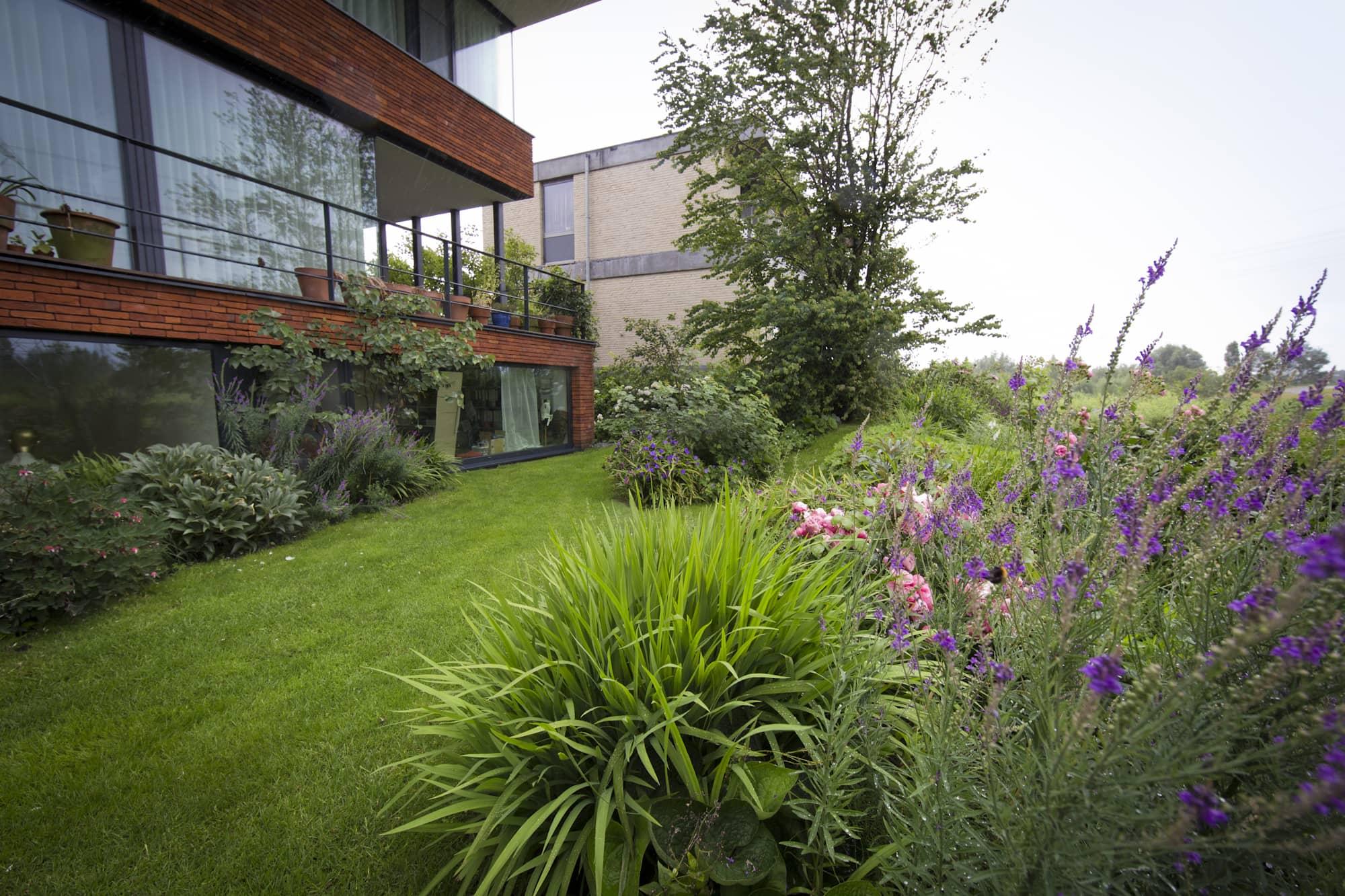 Tuin aangelegd door Filius Hoveniers