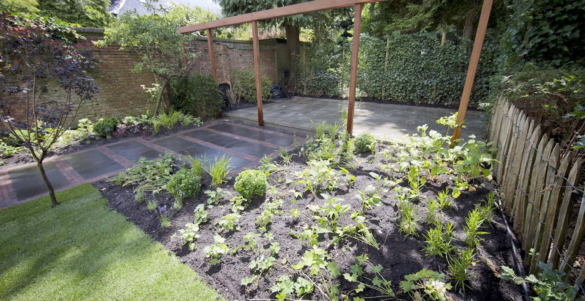 Aanleg tuin Koningsstraat Hilversum