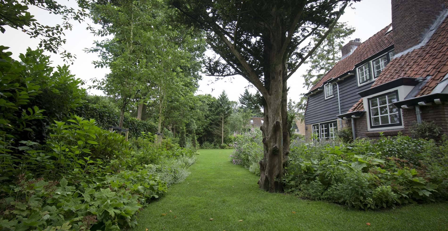 English gardening in het Gooi