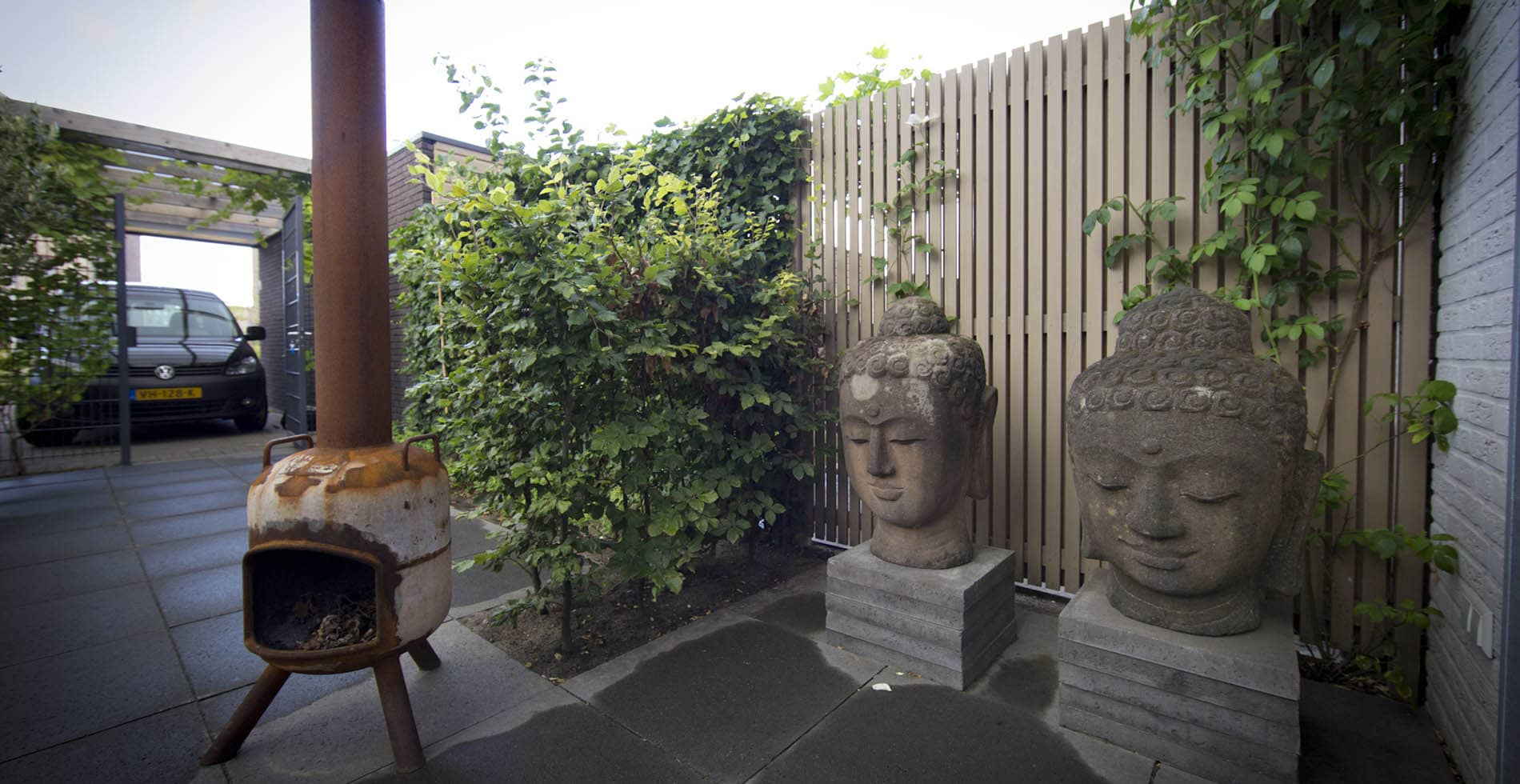 Aanleg tuin Leeuwenveld 2 Weesp