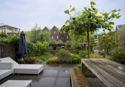 Prachtige Nieuwbouw-tuin Weesp